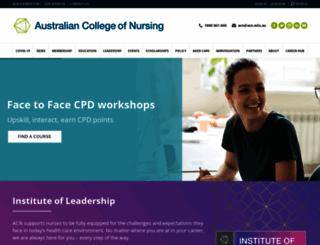 acn.edu.au screenshot