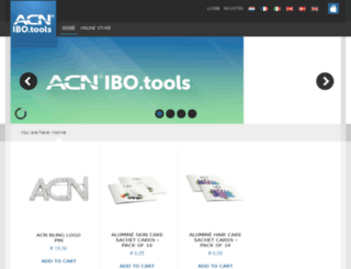 acnbusinesstools.eu screenshot
