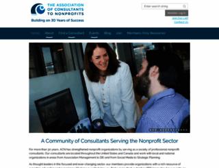 acnconsult.org screenshot