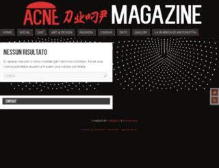 acnedump.altervista.org screenshot
