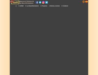 acnefi.org screenshot