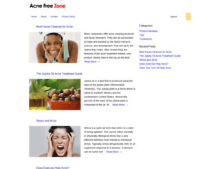 acnefreezone.com screenshot