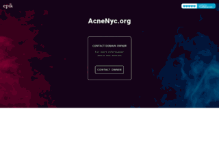 acnenyc.org screenshot