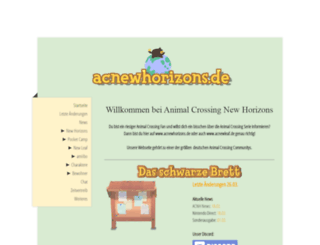 acnewleaf.de screenshot