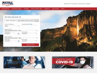 aco.com.ve screenshot