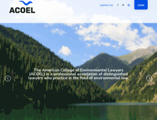 acoel.org screenshot
