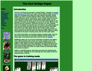 acolbridge.co.uk screenshot