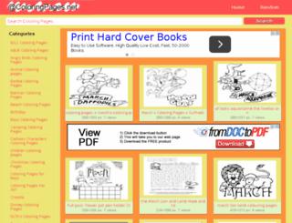 acoloringpages.net screenshot