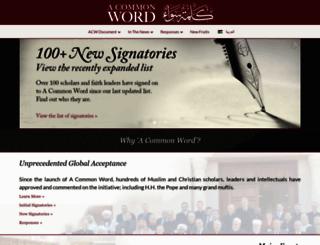 acommonword.com screenshot