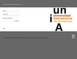 aconnect.unia.es screenshot