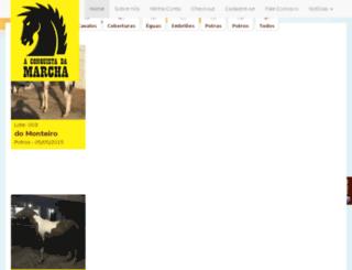 aconquistadamarcha.com.br screenshot