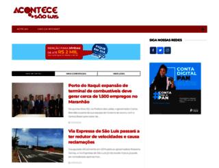 acontecesaoluis.com.br screenshot