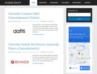 acordeemny.com.br screenshot