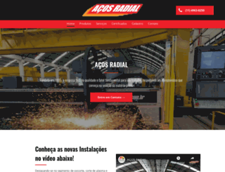 acosradial.com.br screenshot