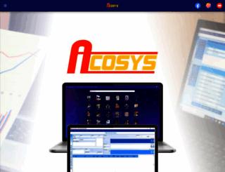acosys.co.id screenshot