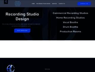 acoustic-consultants.co.uk screenshot
