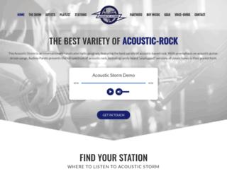 acousticstorm.com screenshot