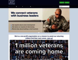 acp-advisornet.org screenshot