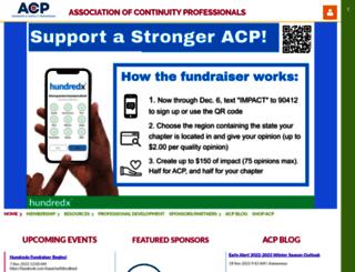 acp-international.com screenshot