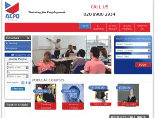 acpdacademy.uk screenshot