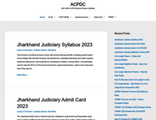 acpdc.in screenshot
