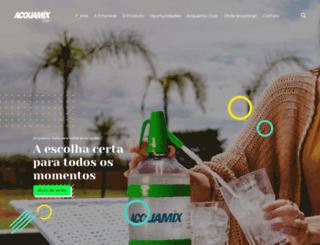 acquamix.com.br screenshot