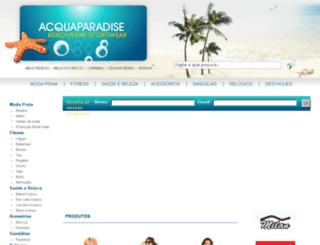acquaparadise.com.br screenshot