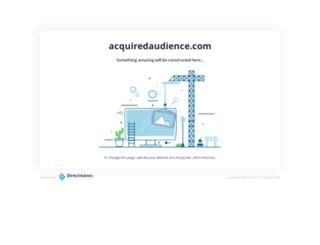 acquiredaudience.com screenshot