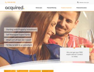 acquiredproperties.com.au screenshot