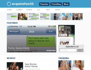 acquirefun35.com screenshot