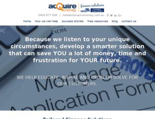 acquiremoney.com.au screenshot