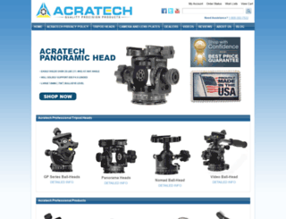 acratech.net screenshot