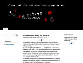 acreativerevolution.ca screenshot