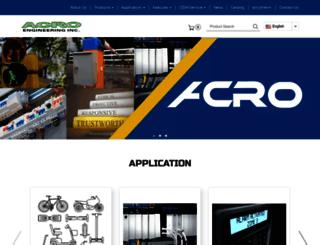 acro-powers.com screenshot