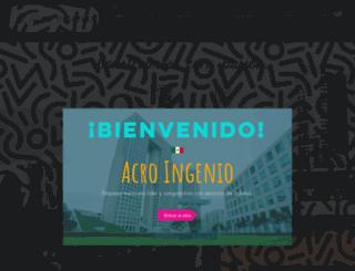 acroingenio.com screenshot