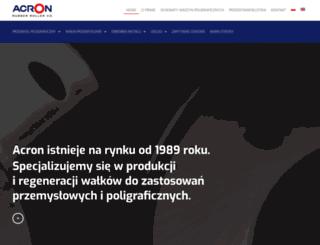 acron.com.pl screenshot