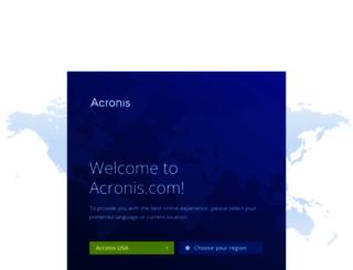 acronis.com.au screenshot