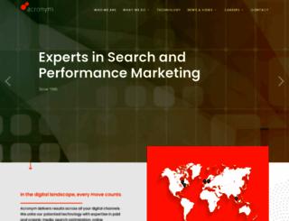 acronym.com screenshot