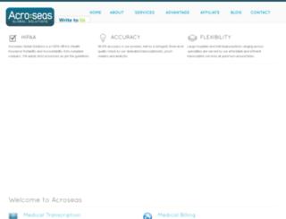 acroseas.com screenshot