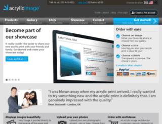 acrylicimage.com screenshot