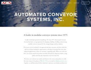 acsconveyor.com screenshot