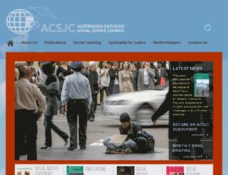 acsjc.org.au screenshot