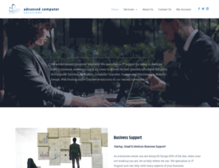 acsolutionsltd.co.uk screenshot
