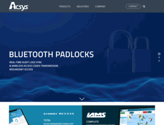 acsys.com screenshot