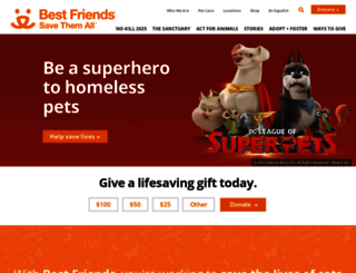 act.bestfriends.org screenshot