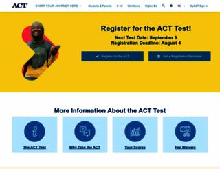 act.org screenshot