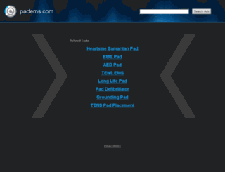 act.padems.com screenshot