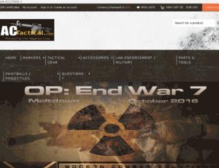 actactical.com screenshot