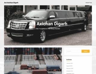 actaxichandigarh.com screenshot