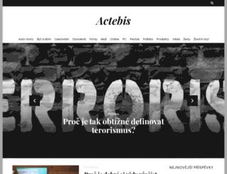 actebis.cz screenshot